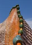 Casa Battlló -  Roof  Decoration