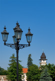 Lantern With Town Hall