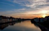 Danube River Sunset