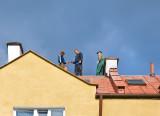 Looking Up On Working Men