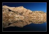 Sierra Nevada Reflections in Blue