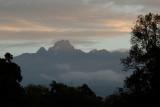Mountain Lodge view  Mount Kenya