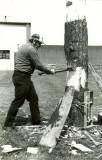 Spring board chop