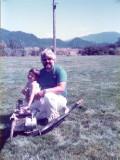 Kelly...my best fan. (Morton, Wn '85)