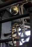Brugge Belfry clock escapement