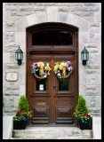 Flower entrance