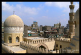 View from the Mosquee  Ibn Tulum, The City of Cairo