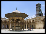 Inner Place at Mohammed Ali mosquee