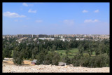 City around Pyramids .. and a Golf Club !