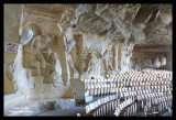 Church under the rock Sculptures are handmade