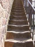 Castle steps in the Eifel