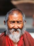 Monk at Tashi Lumpu