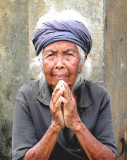 Remote Village, Balinese Woman