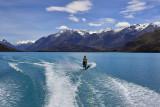 Mika Skiing - Lake Coleridge