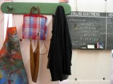 still life with blackboard at the fabrica