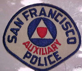 rare sf auxiliary police