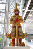 Statue in the airport