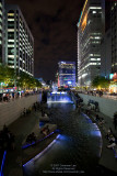 Cheonggye Plaza at Night