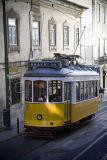Tram, Alfama, Lisbon #5361