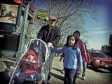 Family, St. Nicholas Avenue