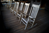 Rocking Chairs, Mohonk Mountain House #1677