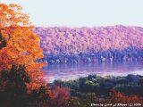 Autumn on the Ohio River.