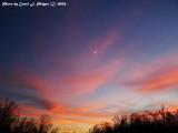 Kentucky Winter Sunset (USA)