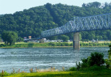 Ohio River at Milton, Kentucky.