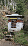 Prayer wheel in the Countryside