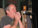 Robbie with harmonica
