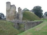 Pickering Castle:the motte