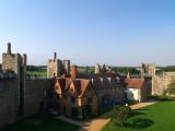 Framlingham Castle,the courtyard