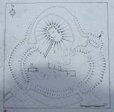 A  plan  of  Pleshey  Castle