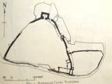 Richmond Castle:a plan of the remains