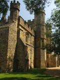 Battle Abbey,the gatehouse