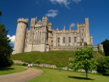 Arundel Castle,from within the Grounds.