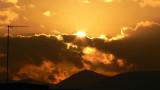 nubes en contraluz