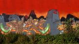 graffity  & vegetación