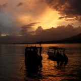 Sunset at Lembeh