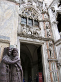 Doge's palace doorway