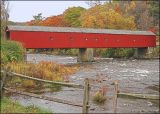 Hart Covered Bridge at the junction of Rt 7 and Rt 128.