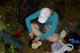 Jenny preparing lunch