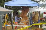 Annual Chainsaw Carving Competition in Campbell River