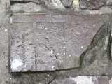 ...but some things are unchanged, like this Jewish headstone still being used as paving