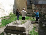 ...while Alex explains some old and new details of the site's history