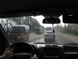 driving from Lviv the next morning, we find the road conditions poor