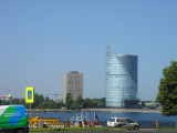 looking across the Daugava