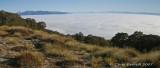 Morning light, fog in the valleys
