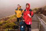 Raincoat stop - on way to Waihohonu Hut