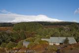 Waihohonu Hut with Ruapehu behind